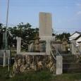 住吉荘の前の銅像